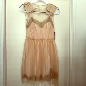 Rodarte for Target blush slip tulle dress - size M